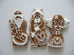 Gingerbread Cookies, Ornament, Ginger Bread, Sweets, Baking, Advent, Desserts, Christmas, Xmas