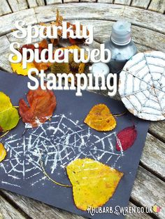 Kids love printmaking, and will adore making their own spiderweb stamps to make these gorgeous glittery pictures! Fun Halloween Games, Halloween Decorations For Kids, Halloween Activities For Kids, Easy Halloween Crafts, Fun Crafts For Kids, Diy Halloween Decorations, Toddler Crafts, Halloween Kids, Art For Kids