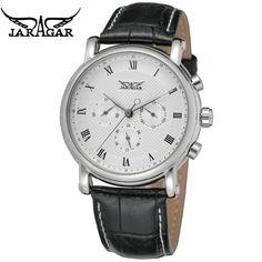 >> Click to Buy << JARAGAR Fashion Men's Roman Number Automatic 6 Hands Week/Date/24H Orologio Uomo Watch Mechanical Wristwatch  Free Ship #Affiliate