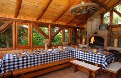 New Patio Ideas, Parrilla Exterior, Backyard Bar, O Gas, Outdoor Spaces, Outdoor Decor, House Rooms, Log Homes, My Dream Home