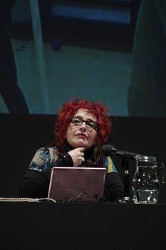 """Clase Magistral """"Más allá de la representación"""" de Mariana Percovich (Uruguay) en MALBA - Panorama Sur 2013 - Foto: Ernesto Donegana"""