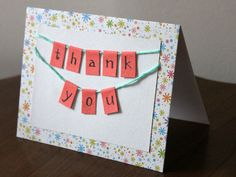 9 Best Thank You Cards Images Handmade Thank You Cards Diy Cards