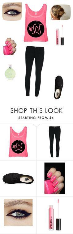 """5sos concert"" by jaydalovesllamas ❤ liked on Polyvore featuring J Brand, Vans, H&M and Chanel"