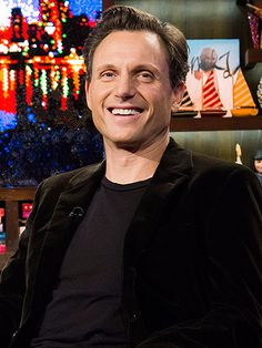 Tony Goldwyn from Scandal shares his advice on what makes his 26-year marriage so happy. #MarriageTips #HappyMarriage