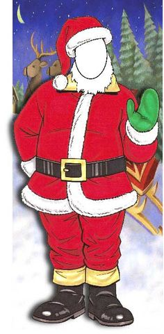 Christmas Photo Op, Santa / Take a picture because you can be Santa  $87.95