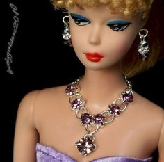 Handmade-Barbie-doll-jewelry-necklace-earrings-for-Barbie-doll-609A