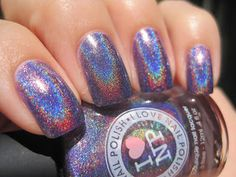 Sparkly Vernis: Purple Holo Week: ILNP Amanda Hugginkiss another must-have purple holographic