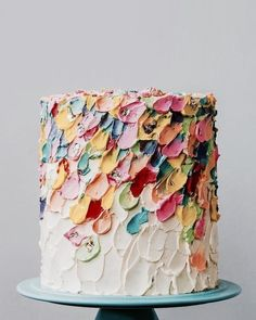 colorsarefun healthymind painted colors please water sugar vegan cake free and say yes is it Water colors painted cake Is it sugar free and vegan Please say yes You can find Birthday cake and more on our website Pretty Cakes, Cute Cakes, Beautiful Cakes, Amazing Cakes, Beautiful Beautiful, Cake Cookies, Cupcake Cakes, Naked Cakes, Bolo Cake
