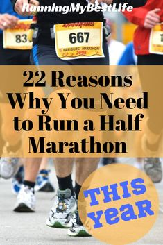 Do you need ANOTHER reason to run a half marathon? Half marathons are the best distance to race, and the provide a serious challenge. Find out why you need to run a half marathon this year. #halfmarathon #halfmarathontraining #running