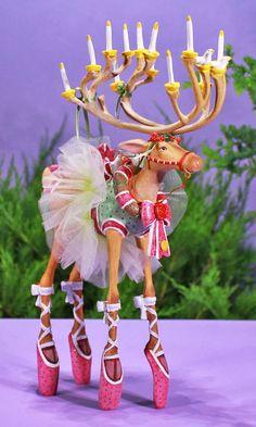 Dash Away Dancer Figure