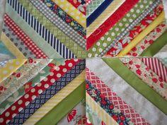 Multi-Patterned String Block Quilt Tutorial