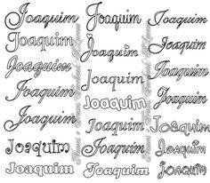 Nomes para pintar