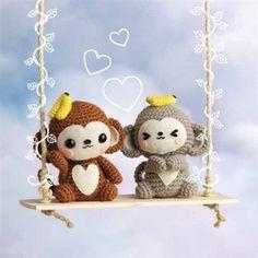 Ayo & Kiki the Monkeys – Crochet Me