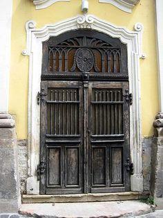 Szentendre Doors ....---Handmade Door with Details