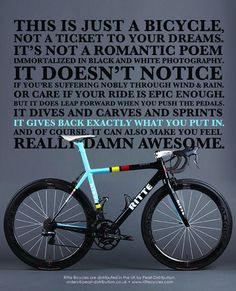 Not only just a bicycle...