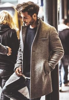 Breathtaking 45 Best Coat Outfits for Men http://inspinre.com/2018/03/15/45-best-coat-outfits-for-men/