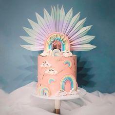 Bakers Gonna Bake, Beautiful Birthday Cakes, No Bake Treats, 9th Birthday, Love Cake, Yummy Cakes, No Bake Cake, Cake Designs, Cake Pops