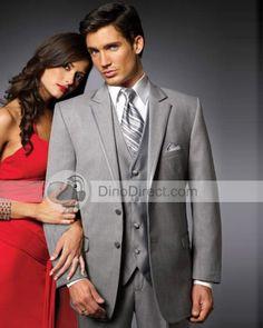 gray and patterned tie Groom Tuxedo, Tuxedo For Men, Wedding Suits, Wedding Attire, I Got Married, Wedding Styles, Wedding Ideas, Groomsmen, Event Planning