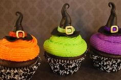 Witch Cupcakes ... for Wizard of Oz party