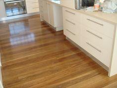 Spotted Gum timber flooring Brisbane QLD kitchen Zealsea Timber ...