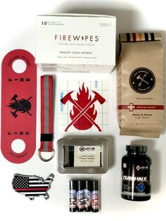 Anything but another tshirt! Grab a gift pack of items that your firefighter will be sure to love, there's so many options of quality firefighter owned products- you'll support the community and give your firefighter something they will actually love! Not only is this better than showing up with another cliche gift for the holidays, but it's the perfect way to sample some new products! Hop over to FireMom.com and support this awesome partnership! Firefighter Training, Firefighter Family, Firefighter Gifts, Activated Charcoal Soap, Nutcracker Christmas, Nutcrackers, Firefighters, Favorite Person, Get One