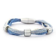 Sky Variation 1 Bracelet | Fusion Beads Inspiration Gallery