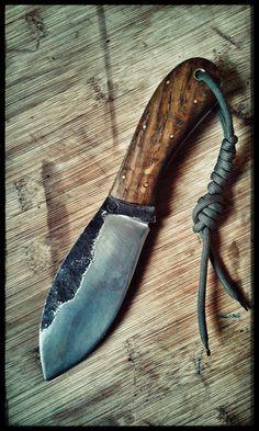 handforged nessmuk knife www.gerbal.hu