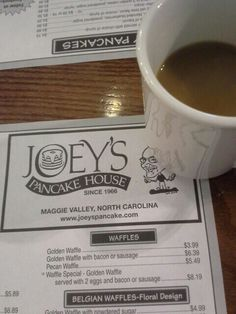 For over 46 years Joey's Pancake House has been the favorite breakfast stop for the locals and visitors of Maggie Valley, North Carolina. Maggie Valley North Carolina, Maggie Valley Nc, Living In North Carolina, North Carolina Mountains, Waynesville North Carolina, Cherokee Nc, The Pancake House, Nc Mountains, Easter Traditions