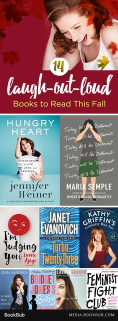 14 books to read for fall that will make you laugh out loud, including Maria Semple and Jennifer Weiner's new releases!