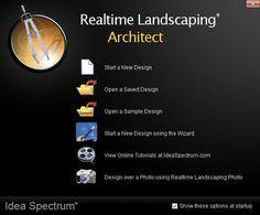 Getting Started with Realtime Landscaping Architect Online Tutorials, Get Started, Menu, Landscape, Garden, Design, Menu Board Design, Scenery, Garten