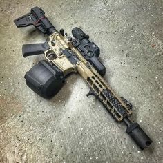 AR15 modification from Rebel Arms