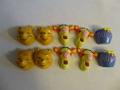 Drawer Knobs Winnie The Pooh Disney Characters Set Of 10 Drawer Pulls