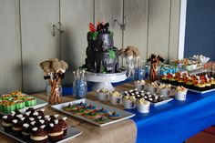 Running with Three Boys: Chase's Dragon Party (cute party food ideas)