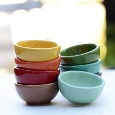 Fall Giveaway! Rainbow colored prep bowls have a hundred ways to use them in the kitchen and on the table. Enter for a chance to win!