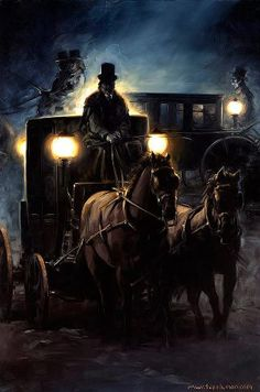 Kai Fine Art is an art website, shows painting and illustration works all over the world. Victorian London, Victorian Gothic, Gothic Horror, Horror Art, Dark Fantasy Art, Dark Art, Vampiro Real, Vila Medieval, Sherlock Holmes
