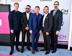 Backstreet Boys from ACM Awards 2017: Red Carpet Arrivals