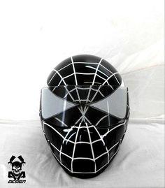 Casque Spiderman noir