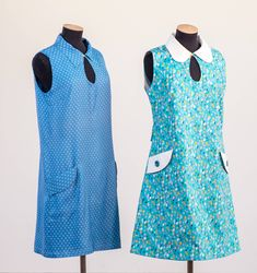 The Mary Quant-Style Minidress (Free) sewing pattern from Alice and Co. Want to make your own minidress, then have a go with this free pattern! Mary Quant Dress, Costura Diy, Plus Size Sewing Patterns, Young Designers, Mini Vestidos, 1960s Fashion, Club Fashion, Diy Fashion, Fashion Outfits