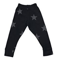 Back in stock: NUNUNU Black Leggings star