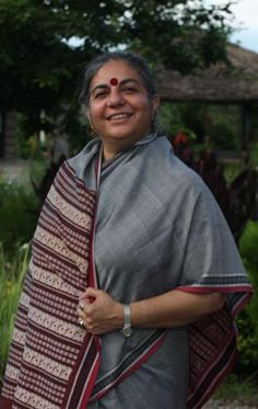 Vandana Shiva (1952-) Indian environmental activist and anti-globalization author currently based in Delhi. She has authored more than 20 books including Biopiracy:   The Plunder of Nature and Knowledge (Between the Lines, 1997) and Water Wars: Privatization, Pollution, and Profit (Between the Lines, 2002). She is one of the leaders and board members of the International Forum on Globalization and has fought tirelessly for changes in the practice and paradigms of agriculture and food.