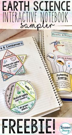 Discover recipes, home ideas, style inspiration and other ideas to try. Earth Science Projects, Earth Science Activities, Earth Science Lessons, Science Notes, Science Notebooks, Science Curriculum, Science Resources, Interactive Notebooks, Science Education