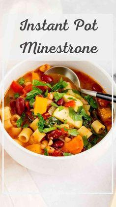 Quick Soup Recipes, Tomato Soup Recipes, Instant Pot Dinner Recipes, Quick Meals, Healthy Dinner Recipes, Healthy Foods, Crockpot Recipes, Italian Appetizers, Pressure Cooker Recipes