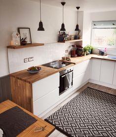 35 Beautiful Kitchen Colors Ideas To Make Extraordinary Look - küche ideen - Home Decor Home Decor Kitchen, Interior Design Kitchen, Kitchen Furniture, Home Kitchens, Interior Decorating, Kitchen Ideas, Modern Kitchens, Ideas For Small Kitchens, Cozy Furniture