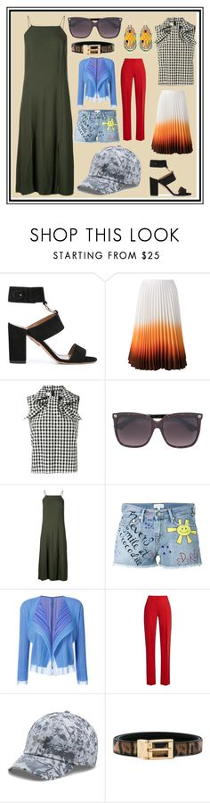 """For The Fashion Women"" by cate-jennifer ❤ liked on Polyvore featuring Aquazzura, J.W. Anderson, Marques'Almeida, Gucci, 321, Mira Mikati, Pleats Please by Issey Miyake, MaxMara, Under Armour and Dolce&Gabbana"