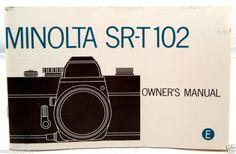 Minolta owner's manual