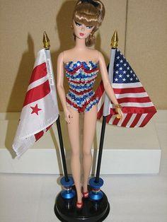 American Pride Barbie