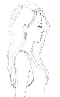 Teardrop Flower Gemstone Earring by Mawi for Preorder on Moda Operandi