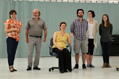 "In the rehearsal room: ""Shakespeare in Love"" at Cleveland Play House #CPHShakesInLove"