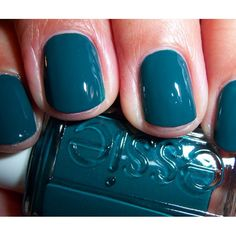 See, look how cool this nail polish by Essie looks. Too bad you can't use it because you keep biting your nails.