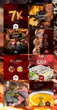 Churrascaria Guaporé - Social Mídia 67 on Behance Food Graphic Design, Food Poster Design, Graphic Design Services, Freelance Graphic Design, Graphic Design Posters, Ad Design, Social Media Bar, Social Media Content, Social Media Design